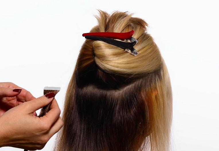Nasazení vlasů